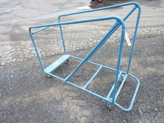 Metal Rack w/Wheels