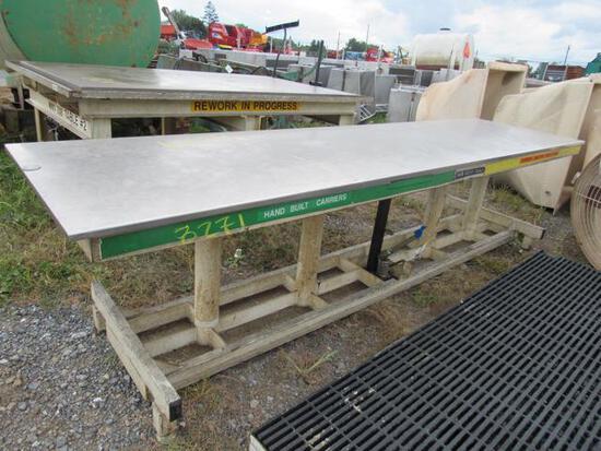 3x10 Steel Hyd Table