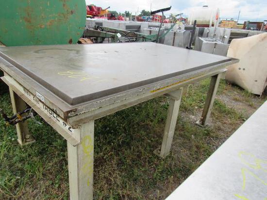 3x7 Steel Welding Table