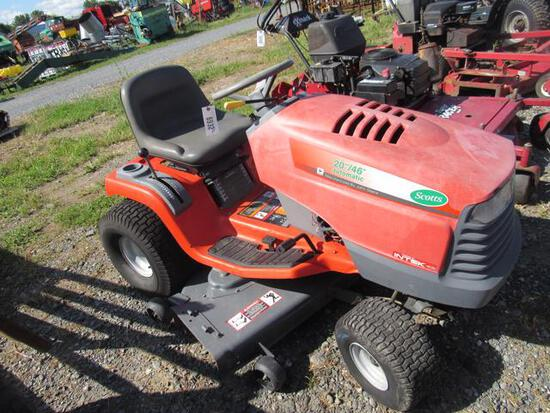 "Scotts L&G Tractor w/46"" Deck"