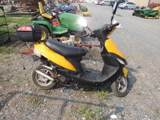 BD 50QT-3 49CC Scooter, 232 Hrs, No Title, Non-Running