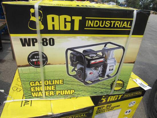 """AGT 3"""" Water Pump WP 80 w/gas engine (New)"""