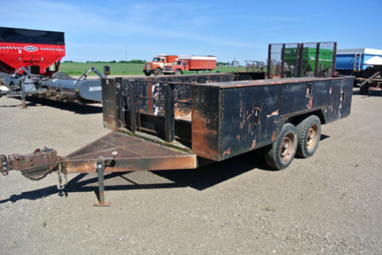 Bobcat trailer