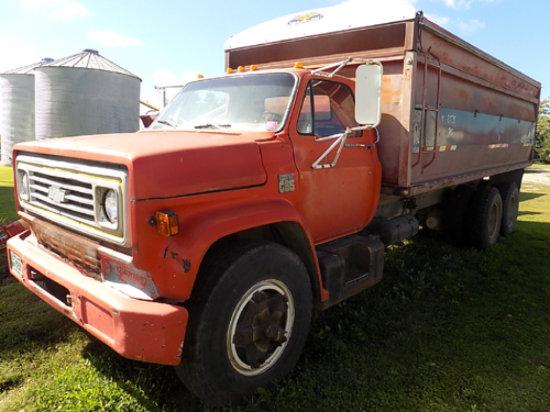 '73 Chevy C-65 grain truck