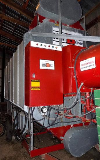 Super B batch grain dryer, portable