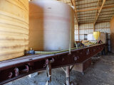 46' utility flatbed semi-trailer w/ 3 water tanks