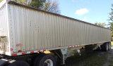 Chamberlain 42' alum. grain hopper trailer
