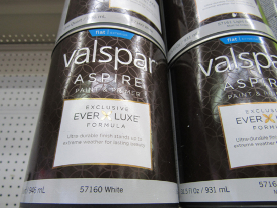 55 quarts of Valspar Aspire & ACE Royal paint and primer base