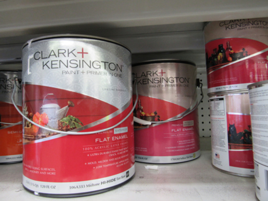 11 quarts & 4 gal of Clark Kensington paint & primer base