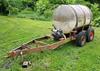 700 gal tank w/ B&S Intek 206, 5.5HP pump on trailer