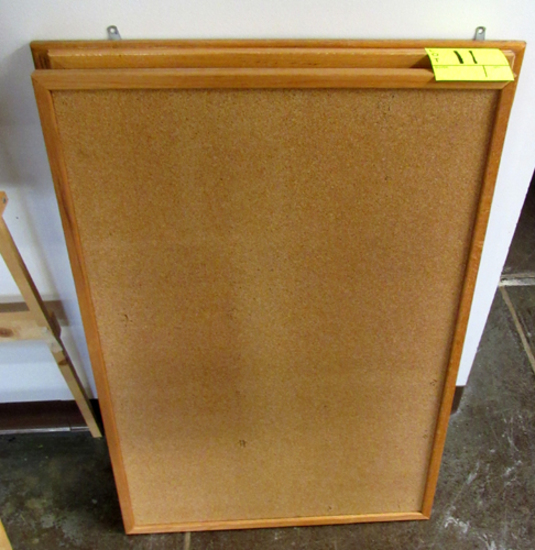 Lot of 4 bulletin boards
