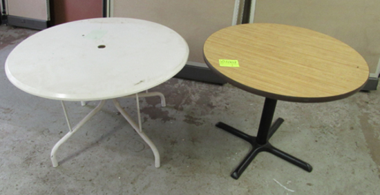lot of 2 tables