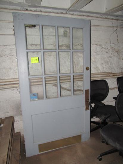 """door w/ window, 48"""""""