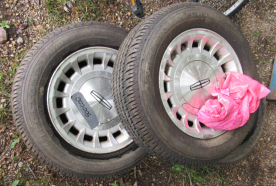 lot of 3 Firestone FR710 tires