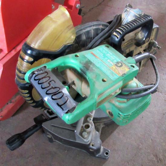 power miter chop saw