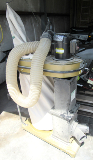 Powermatic dust collector, 1 1/2 HP
