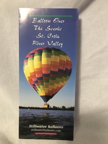 Hot Air Balloon for 2