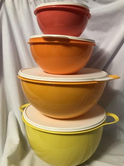 Tupperware 4 PieceThatsa Bowl Set