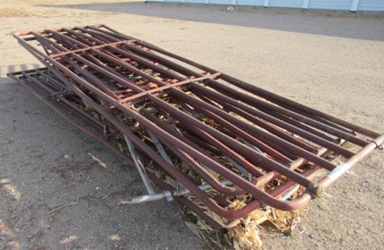 pile of arena gates