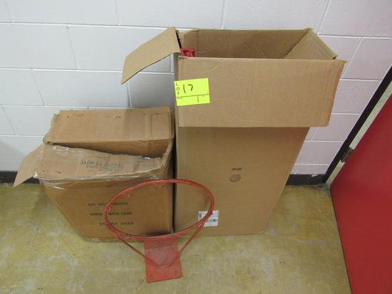2 basket ball hoops