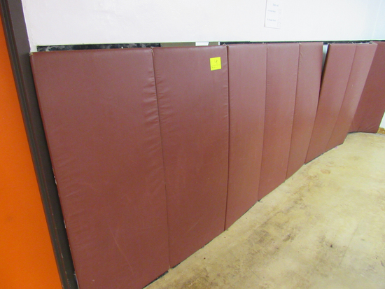 mats attached to wall