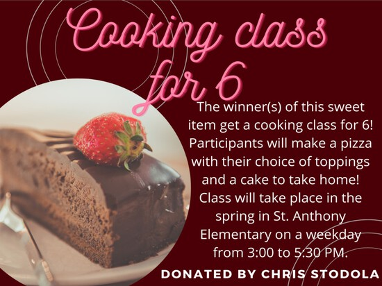 Baking Class for 6 Students!