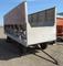 18' wood cattle feeder wagon