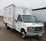 2000 GMC 3500 cargo van