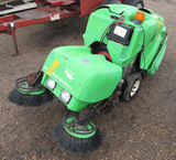 The Green Machine 414, diesel sweep machine