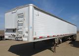 Wilson semi grain trailer