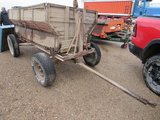 wooden dump wagon