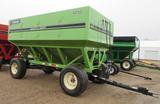 Parker 6250 gravity wagon, 650 bu