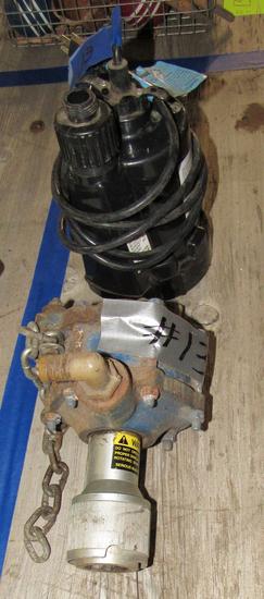 sprayer pump and sump pump