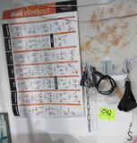 rack, handles & poster