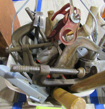 clamps and tools