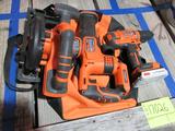B&D power tool set