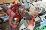 heatgun, sawzall, sander, jigsaw