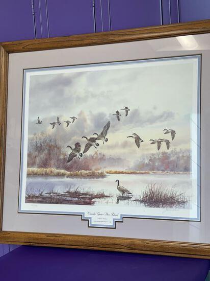 Canada Geese Deer Island Print