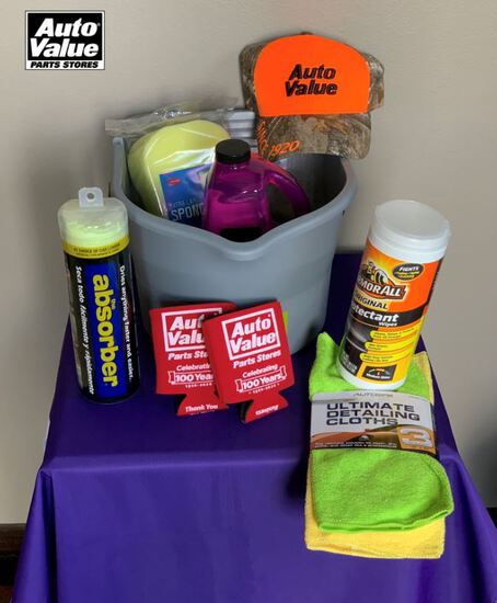 Auto Value Gift Basket