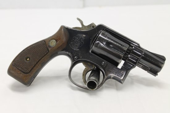 Smith & Wesson Model 10 Snubbie
