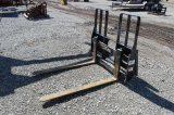 Walk-Through Pallet Forks