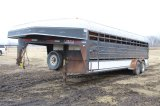 Blair 24' Gooseneck Stock Trailer