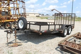 2006 Big Bubba 16' Trailer