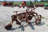 Allis Chalmers 2 Bottom Plow on Steel Wheels