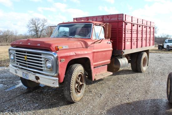 '75 Ford 600 Grain Truck