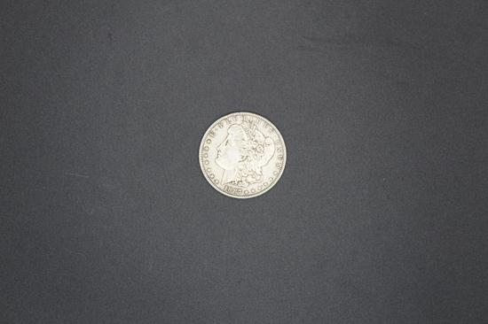 1887p Morgan Dollar