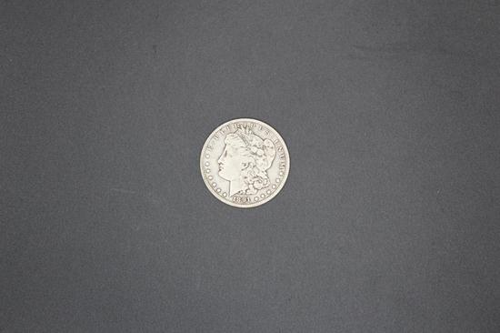 1891o Morgan Dollar