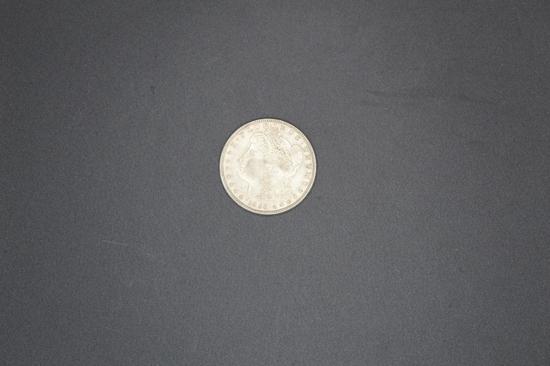 1896p Morgan Dollar