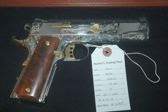 S&W 1911 Limited Edition #3 of 19