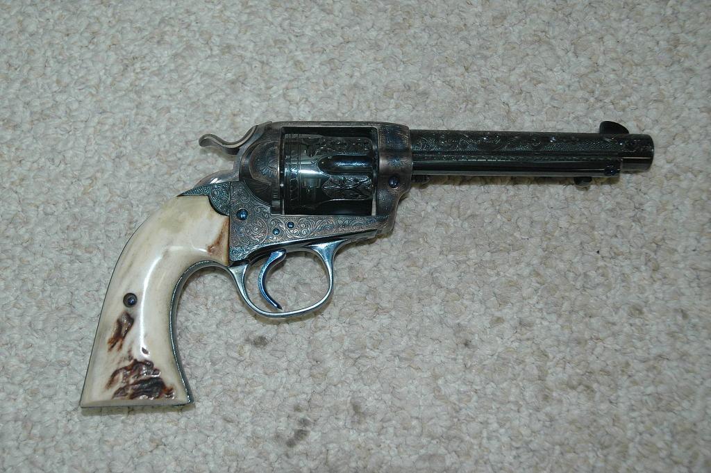 Colt SAA Engraved